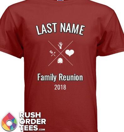 Family Reunion Custom T-Shirt Design Ideas! #familyreunion #custom .