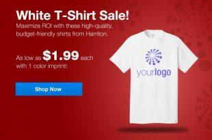 Custom T-Shirts Cheap! As Low as $1.99 Ea