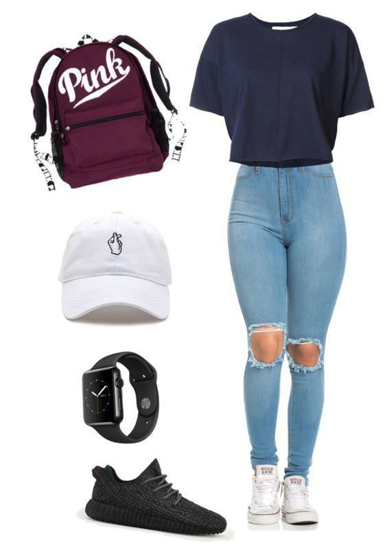 30 Trend Setting Polyvore Outfits for School | Teenager outfits .
