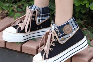 Cute students canvas shoes SE3017 – SANREN
