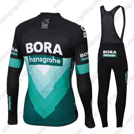 2019 Team BORA hansgrohe Winter Cycle Clothing Thermal Fleece .