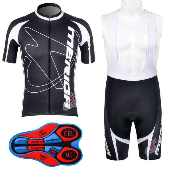 Merida Cycling Jersey Set 2017 Merida Cycle Clothing Summer Short .
