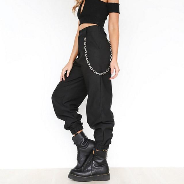 Hirigin Pencil Pants 2019 Newest Women Cargo Trousers Casual Hip .