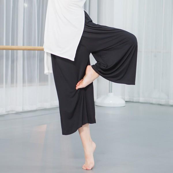 Women's modern dance pants female lady modal ballet yoga training .