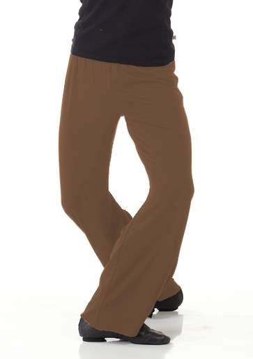 Brown Boys Dance Pants (Lycra) - 200+ Colo