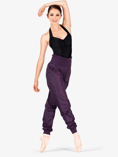 High Waist Garbage Bag Dance Pants - Pants & Leggings | Sansha .