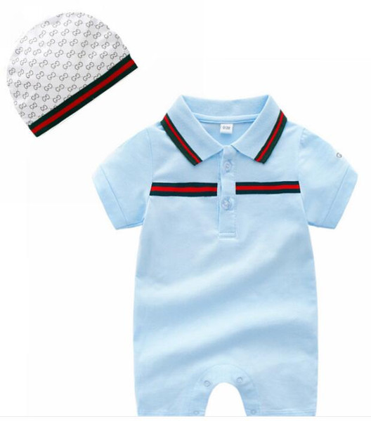 2020 Newborn Baby Clothes Short Sleeve Designer Baby Rompers .