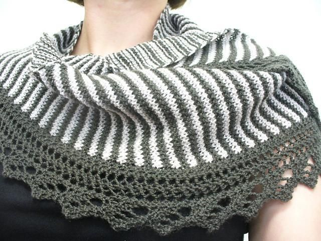Drape yourself in the winter with the designer shawl patterns .