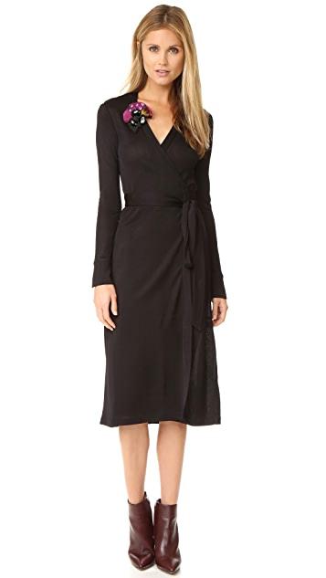 Diane von Furstenberg Cybil Wrap Dress | SHOPB