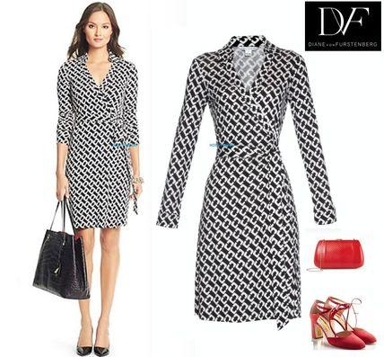 Shop DIANE von FURSTENBERG Wrap Dresses Office Style Dresses by .