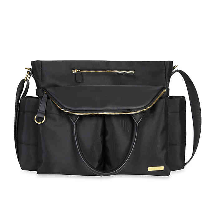 SKIP*HOP® Chelsea Diaper Bag in Black | buybuy BA