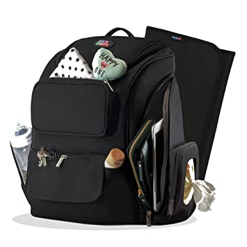 Amazon.com : Large Diaper Bag Backpack for Baby Girls & Boys .