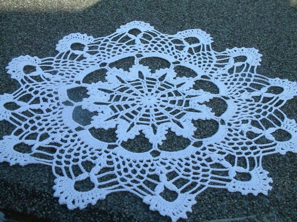 14 Free Crochet Doily Patterns for Beginners   Doily patterns .