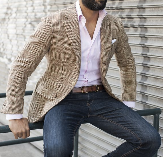 Sports Jacket and Jeans: A Man's Go-To Getup | Sports jacket with .