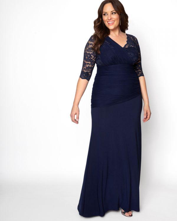Soiree Evening Gown   Women's Plus Size Formal Dre