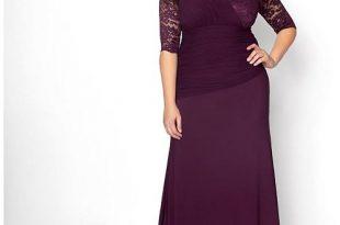 Kiyonna Women's Plus Size Soiree Evening Gown & Reviews - Dresses .