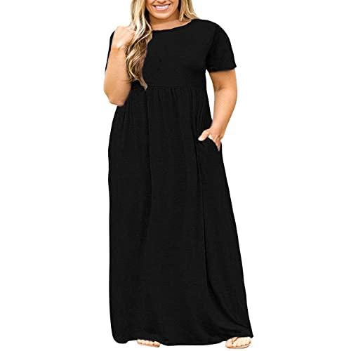 Black Plus Size Maxi Dress: Amazon.c