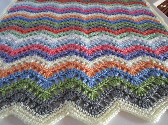 Easy Crochet Blanket Pattern Crochet Throw Blanket Afghan | Et