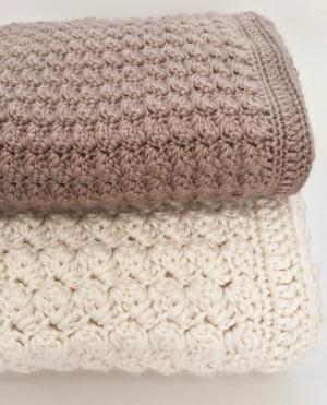 11 Easy Crochet Baby Blanket Patterns - A More Crafty Li