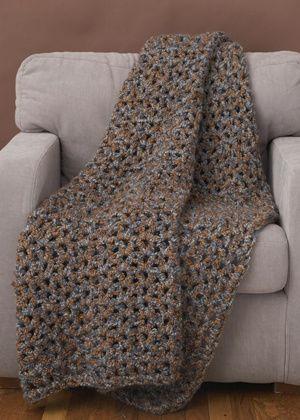 Under 6 Hours Crochet Throw Pattern | Crochet throw pattern .