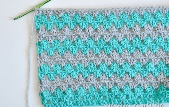 Incredibly Fast And Easy Baby Blanket Crochet Pattern | Crochet .