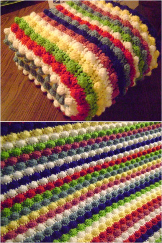 28 Quick And Easy Crochet Blanket Patterns For Beginners - DIY .