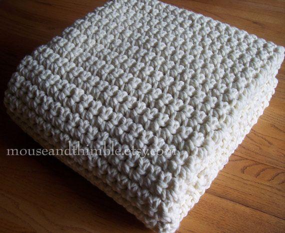 easy+crochet+blanket+for+beginners | Extra Large Chunky Afghan .