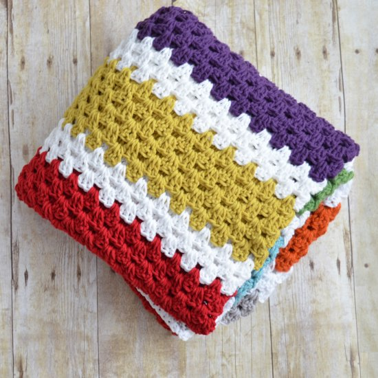 20 Easy Crochet Afghans Perfect for Beginners - Dabbles & Babbl