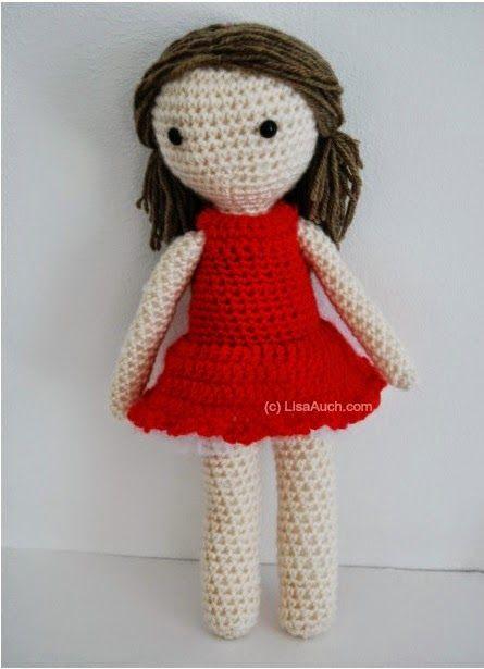 Free Crochet Amigurumi Doll Pattern (A Basic Crochet Doll Pattern .