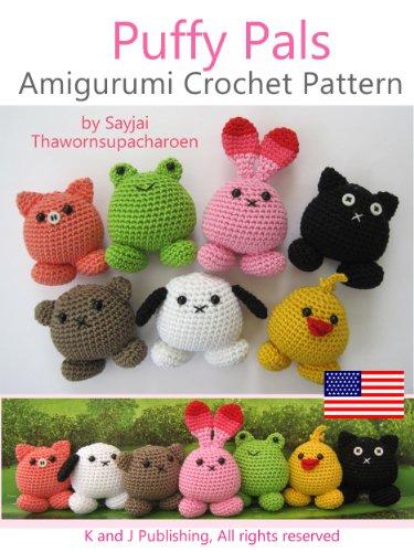 Amazon.com: Puffy Pals Amigurumi Crochet Pattern (Easy Crochet .