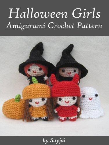 Amazon.com: Halloween Girls Amigurumi Crochet Pattern (Easy .