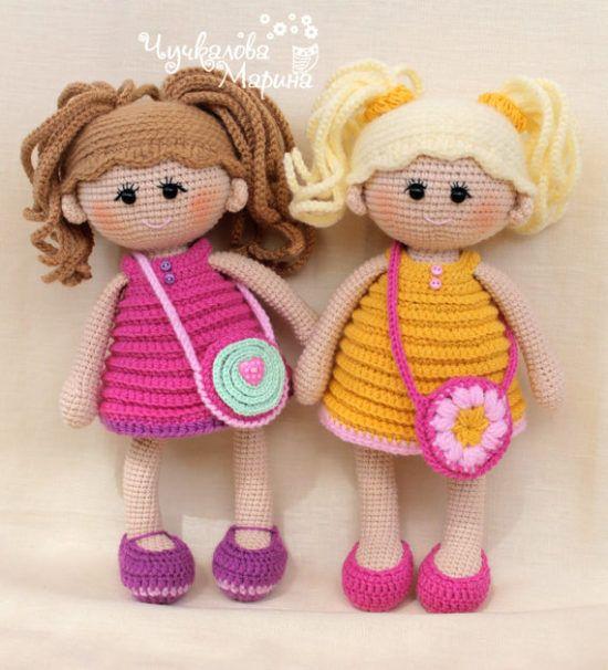 Crochet Dolls Patterns You'll Love | Crochet toys patterns .