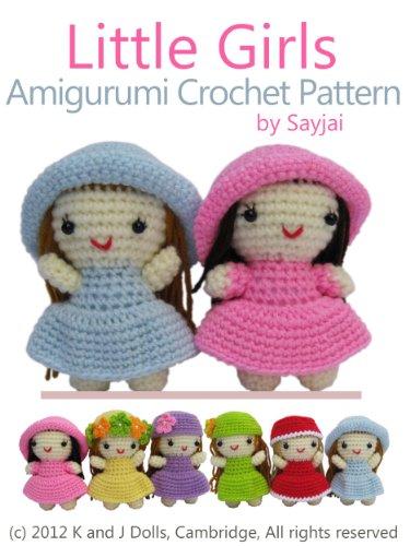 Amazon.com: Little Girls Amigurumi Crochet Pattern (Easy Crochet .