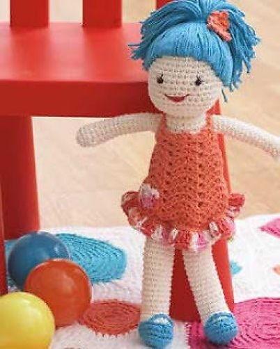 Easy Crochet Doll Patterns