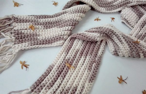 17 Easy Crochet Scarf Patterns • Simply Collectible Croch