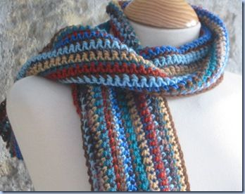 Free and Easy Crochet Scarf Patterns for Beginners | Scarf crochet .