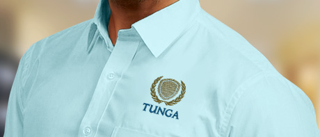 Buy office shirts with logo - 60% OF