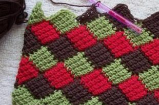 Everything You Need to Know About Entrelac Croch