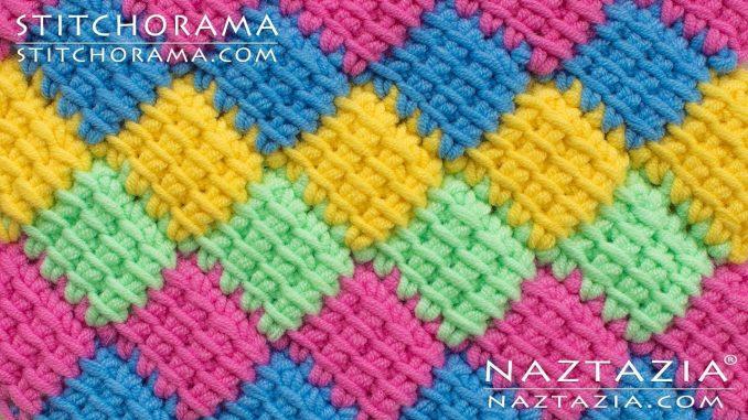 Entrelac Crochet Instructions - Naztazia
