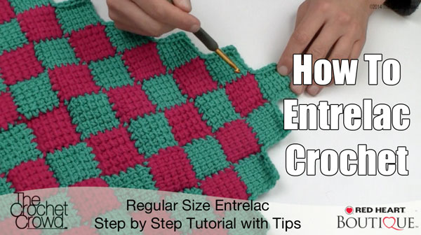 Entrelac Afghan Pattern + Tutorial | The Crochet Cro