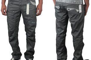 Brand New - Mens Smart/Casual ETO Jeans EM290 - Dark Grey - 38R .