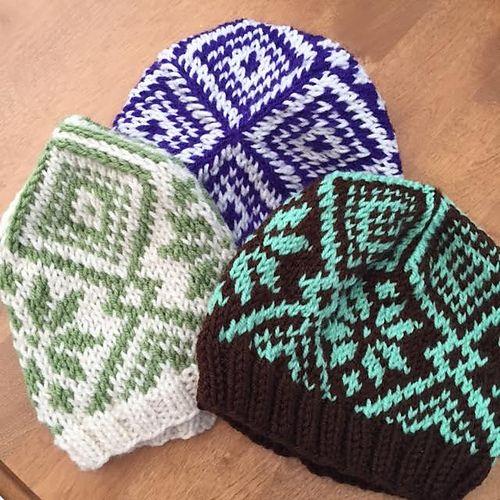 Ravelry: Fair Isle Hat FREE pattern by Emily Dormier   Knitti
