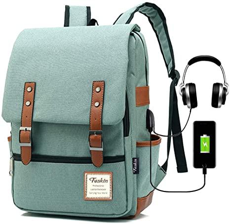 Amazon.com: Vintage Laptop Backpack Women Men, School College .