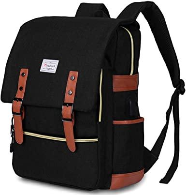 Amazon.com: Modoker Vintage Laptop Backpack for Women Men,School .