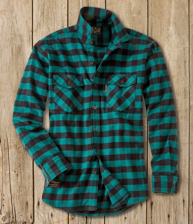 Men's Classic Flannel Shirt - Handcrafted USA - The Vermont .