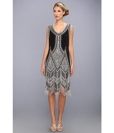 Party-perfect reproduction 1920s flapper dress from Unique Vintage .
