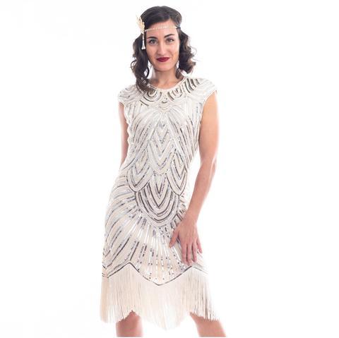 Sequin Flapper Dresses | 1920s Dresses with Sequi