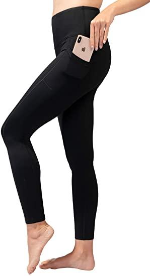 Amazon.com: 90 Degree By Reflex High Waist Fleece Lined Leggings .