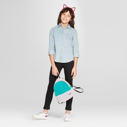 Girls' Cozy Fleece Leggings - Cat & Jack™™ : Targ