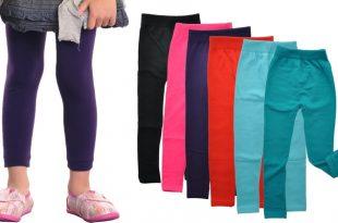 Angelina Girls' Fleece-Lined Leggings (6-Pack) | Group